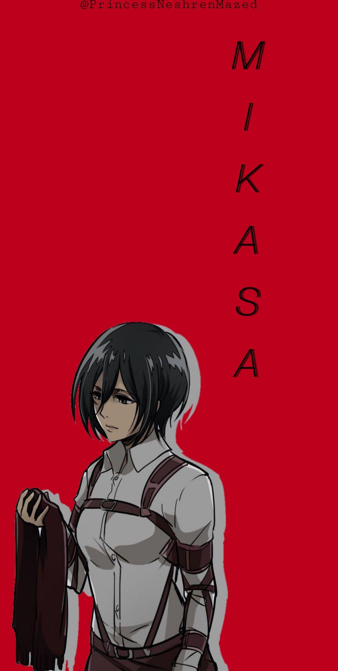 Mikasa Ackerman Wallpaper Mikasa Anime Attack On Titan Art Aot Wallpaper