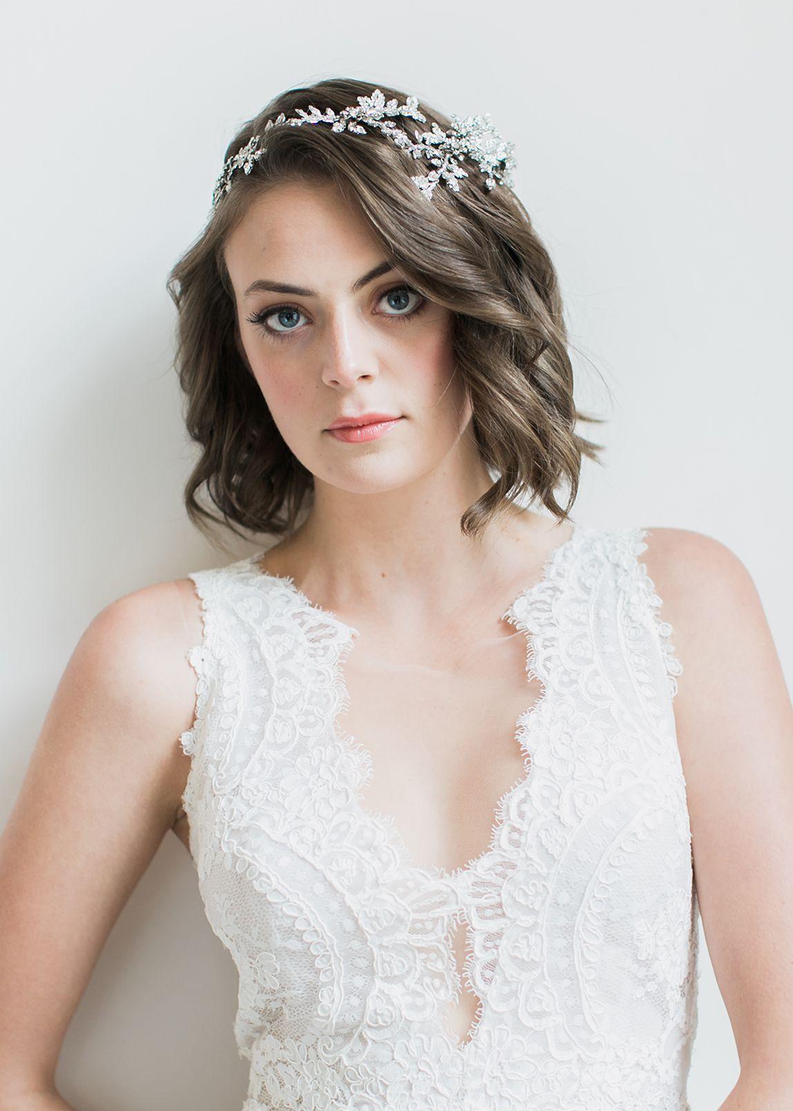 Anais crystal bridal hair piece wedding pinterest bridal