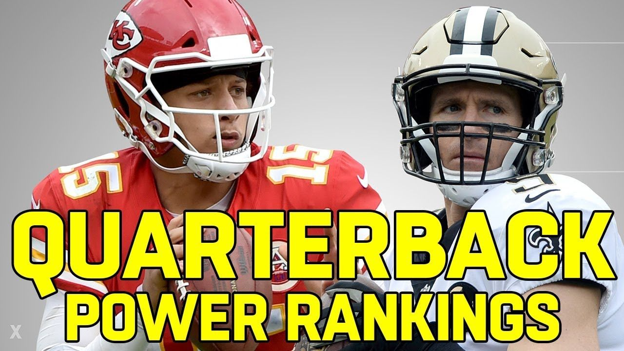 Ranking the NFL QB's from Worst to First YouTube Nfl