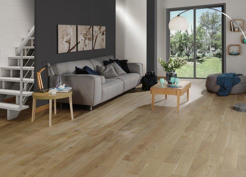 Super Un parquet en chêne naturel pour sublimer votre salon | Sol  FF18