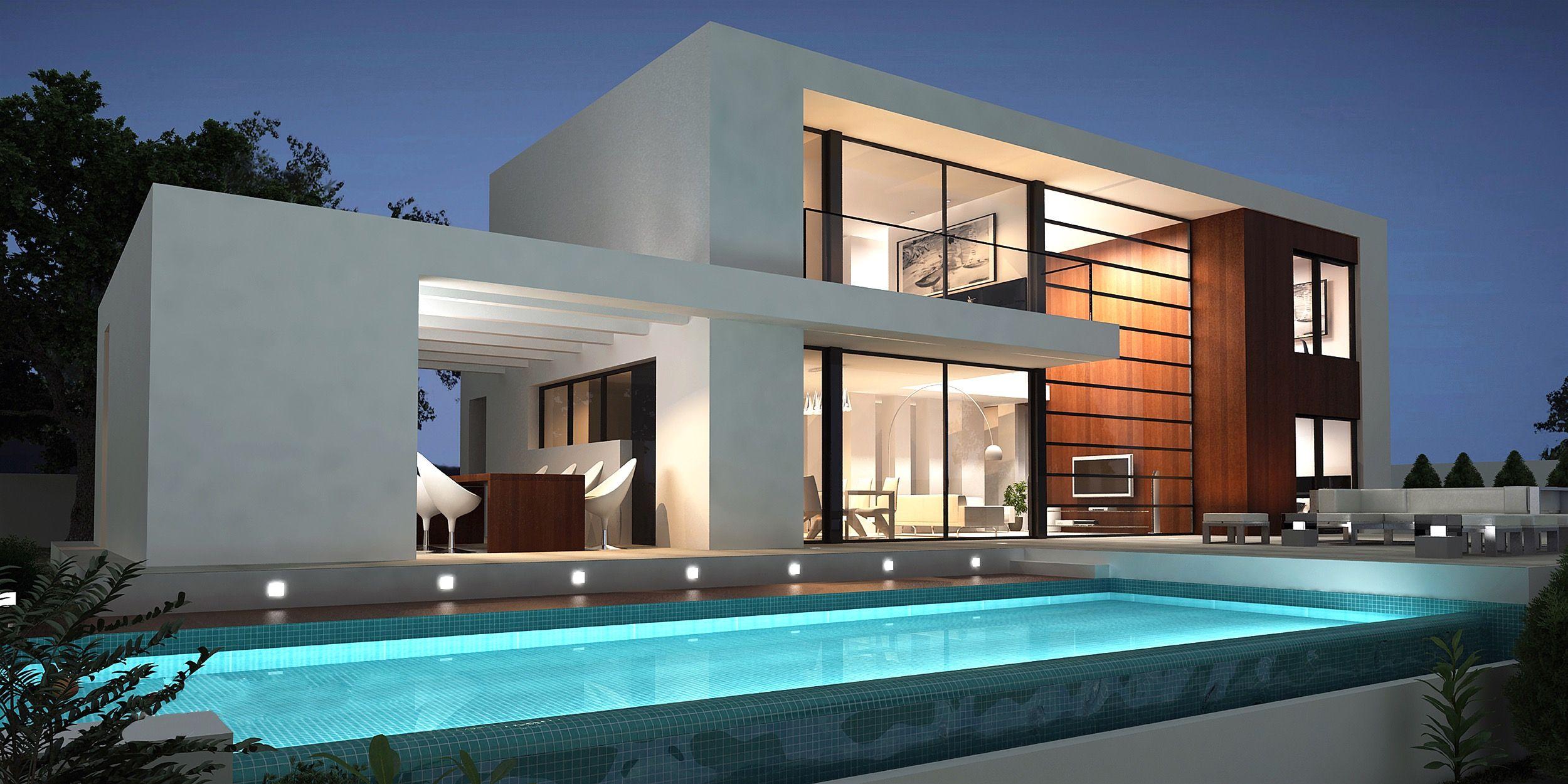 Traumhaus modern attraktiv auf dekoideen fur ihr zuhause for Traumhaus modern