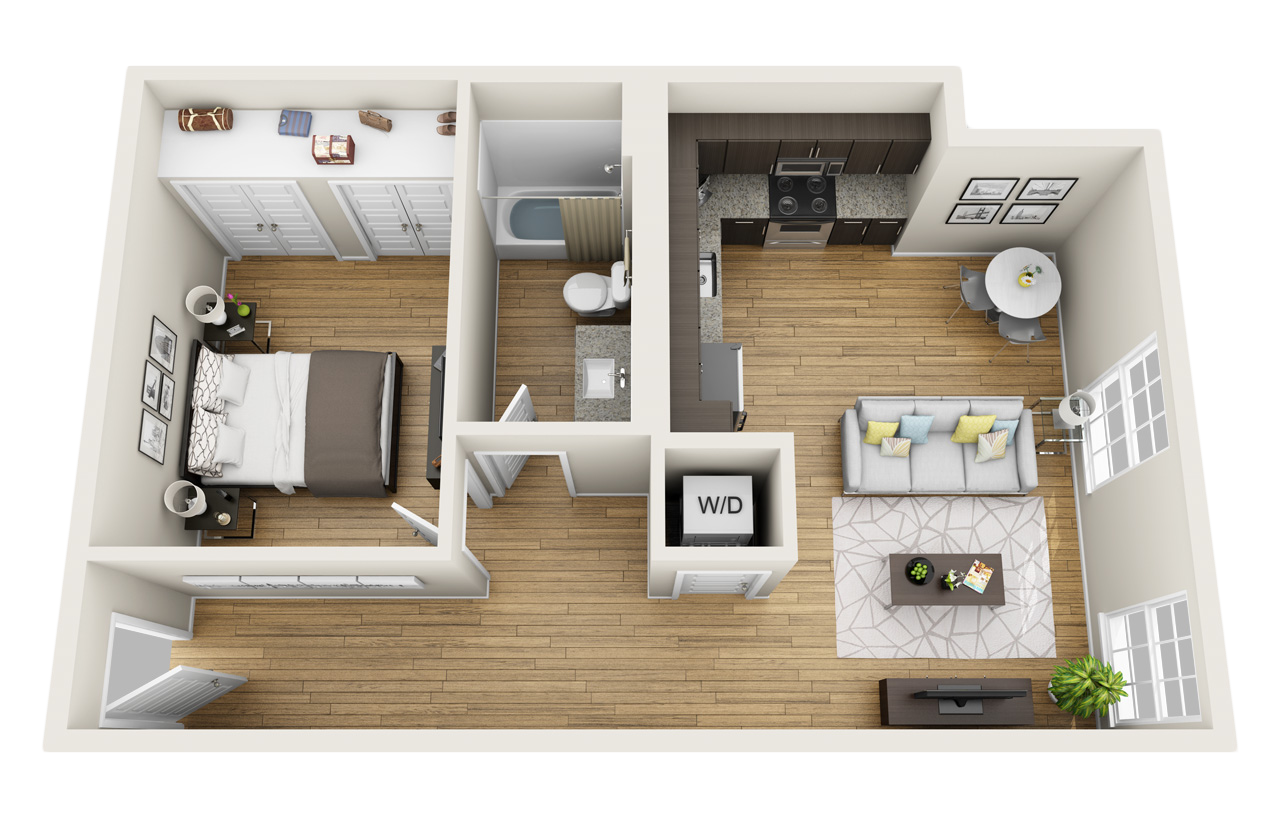 1 Bedroom Apartment Apartments In Macon Ga One Bedroom Apartment Apartment Floor Plans Tiny House Interior Design