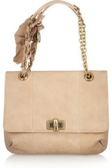 Lanvin - The Happy elaphe shoulder bag