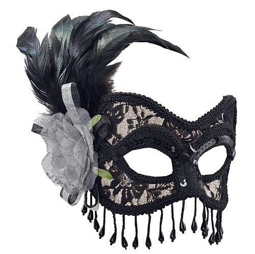 Soft Lace Eyemask Baroque Ball Masquerade Halloween Womens Fancy Dress Accessory