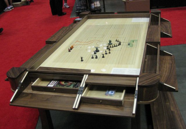 Geek Chic Vizier Table The Ultimate Gaming Accessory