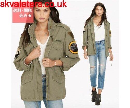 Buy Denim Supply military patch jacket - Women Ralph Lauren x More Jackets