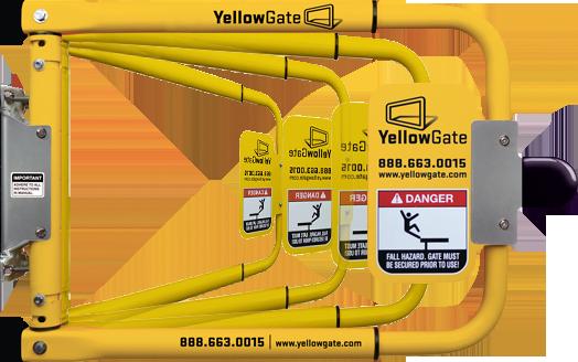 universal safety swing gate yellowgate