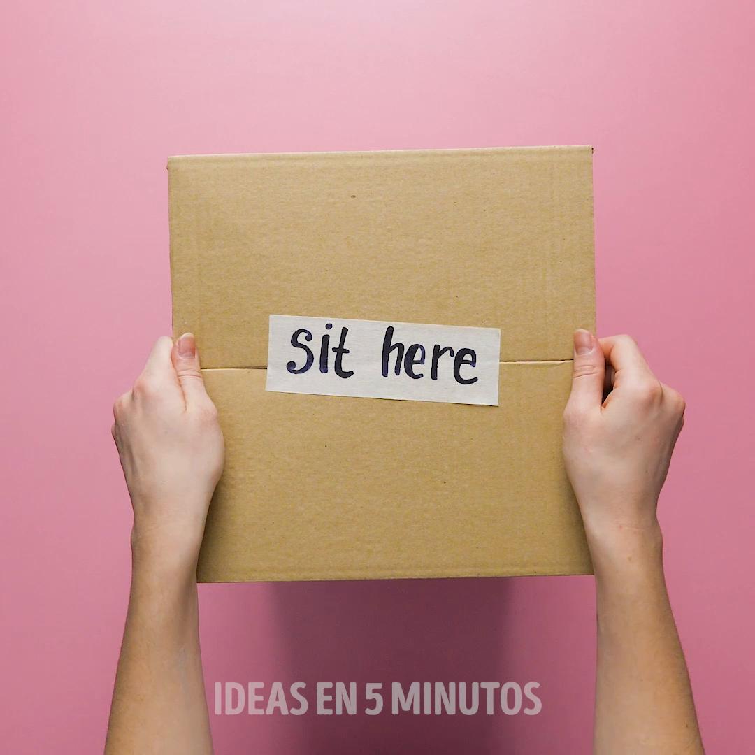 Ideas sencillas con cajas