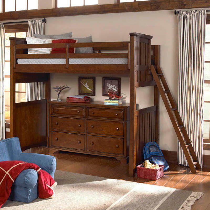 Dawsons Ridge Basic Loft Bed Www Hayneedle Com Bedroom Kids Twin Size
