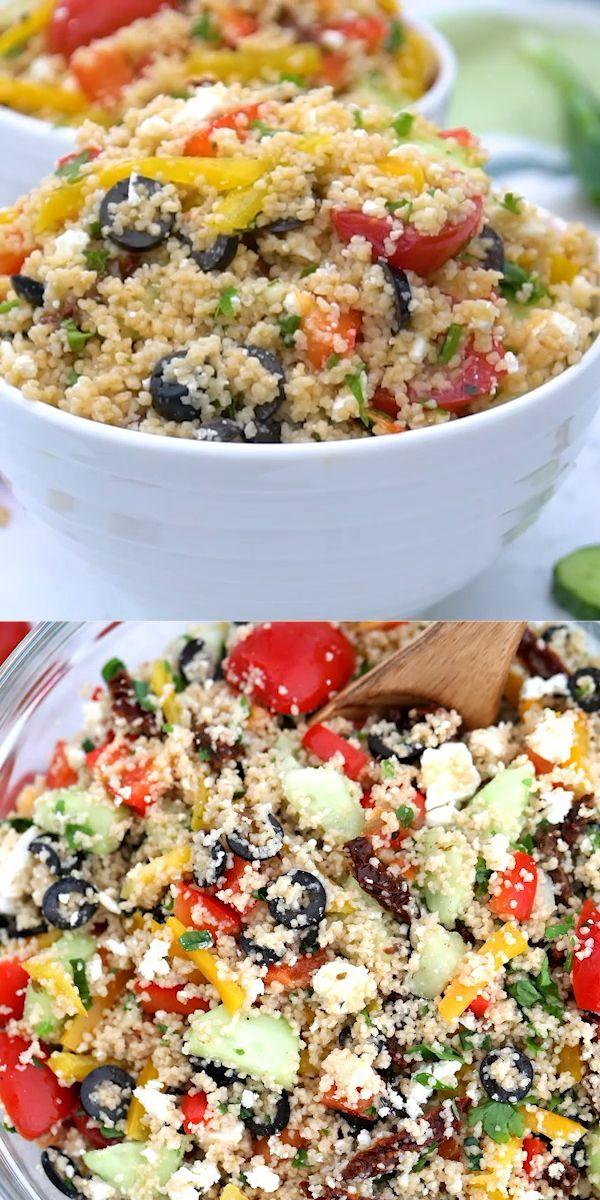 Photo of Mediterranean Couscous Salad – Sweet and Savory Meals