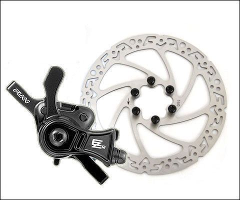 Funn Ezr Mechanical Disc Brake W Rotor Bicycle Brakes Cool