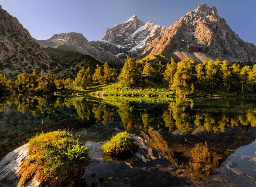 красивые горы таджикистана фото этот