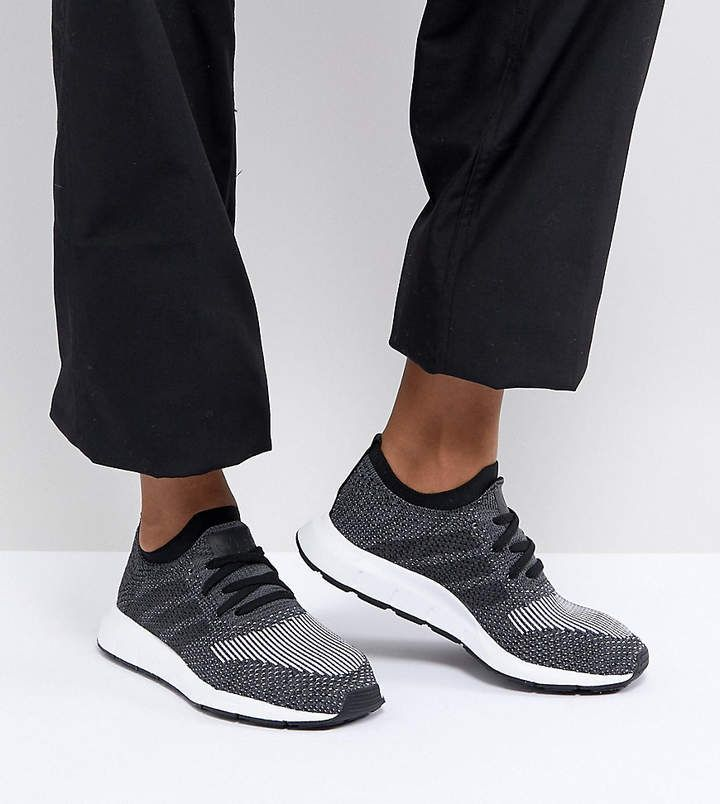 adidas swift run primeknit scarpe nere swift, adidas e