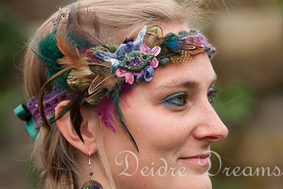 Tribal Fusion Headdress Pagan Karneval Elfen Pinterest Tribal