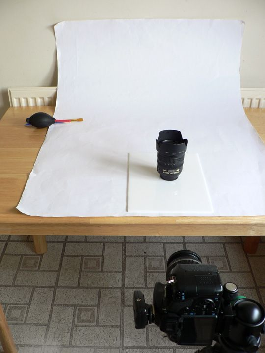 The White Card Backdrop On Table I Have Also Used A Piece Of Photography LessonsPhotography LightingProduct