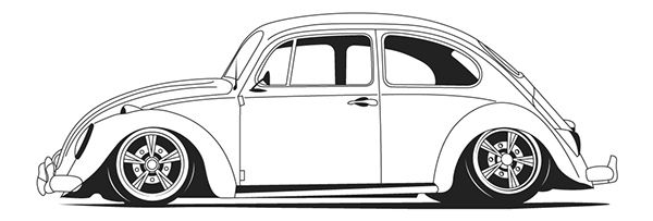Vw Beetle Coloring Pages Google Search Desenhos De Carros