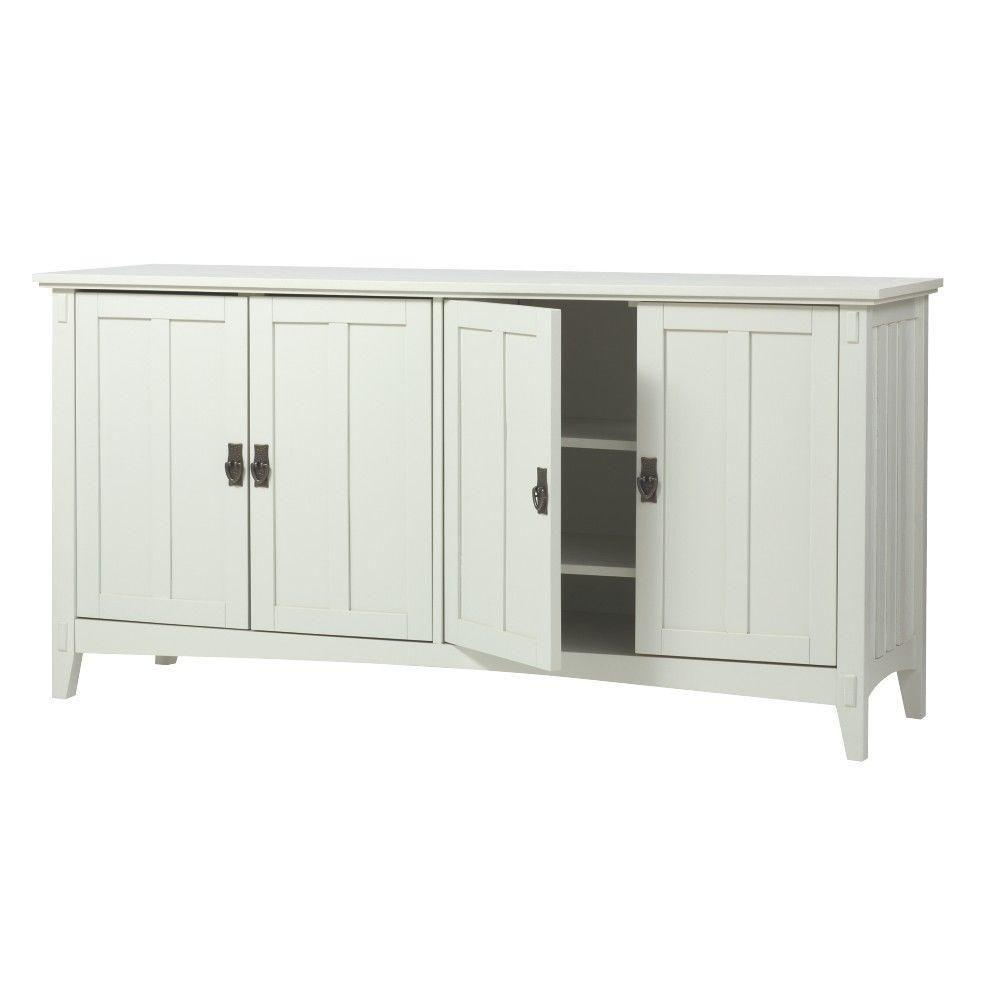 Home Decorators Collection Artisan 60 in. W 4-Door Buffet Table in ...