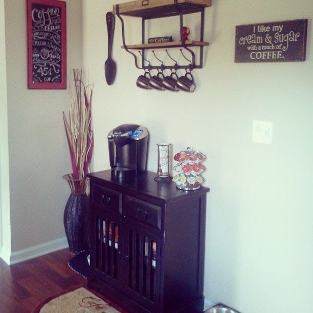 Kitchen Signs Hobby Lobby: Coffee Bar (most Decor From @Hobby Lobby )