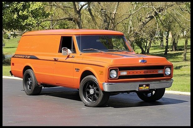 1970 chevrolet panel delivery truck 402 428 hp, automatic presented