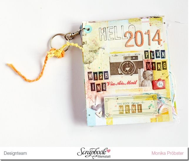 *Imagicallery*: {Scrapbooking & Life} Plans for 2014- mini pocket book