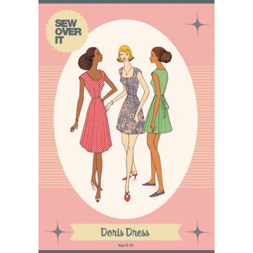 Schnittmuster: Doris Dress | Mode für Rubensdamen, Mode und Nähen