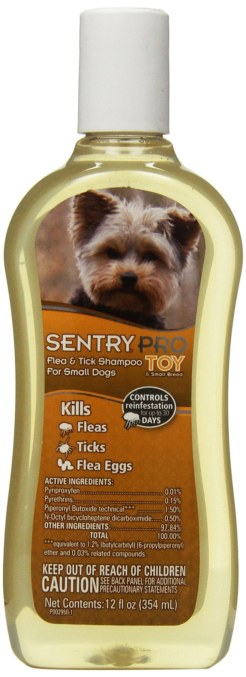 SENTRY PRO Toy Breed Flea and Tick Shampoo 12 oz ** Find