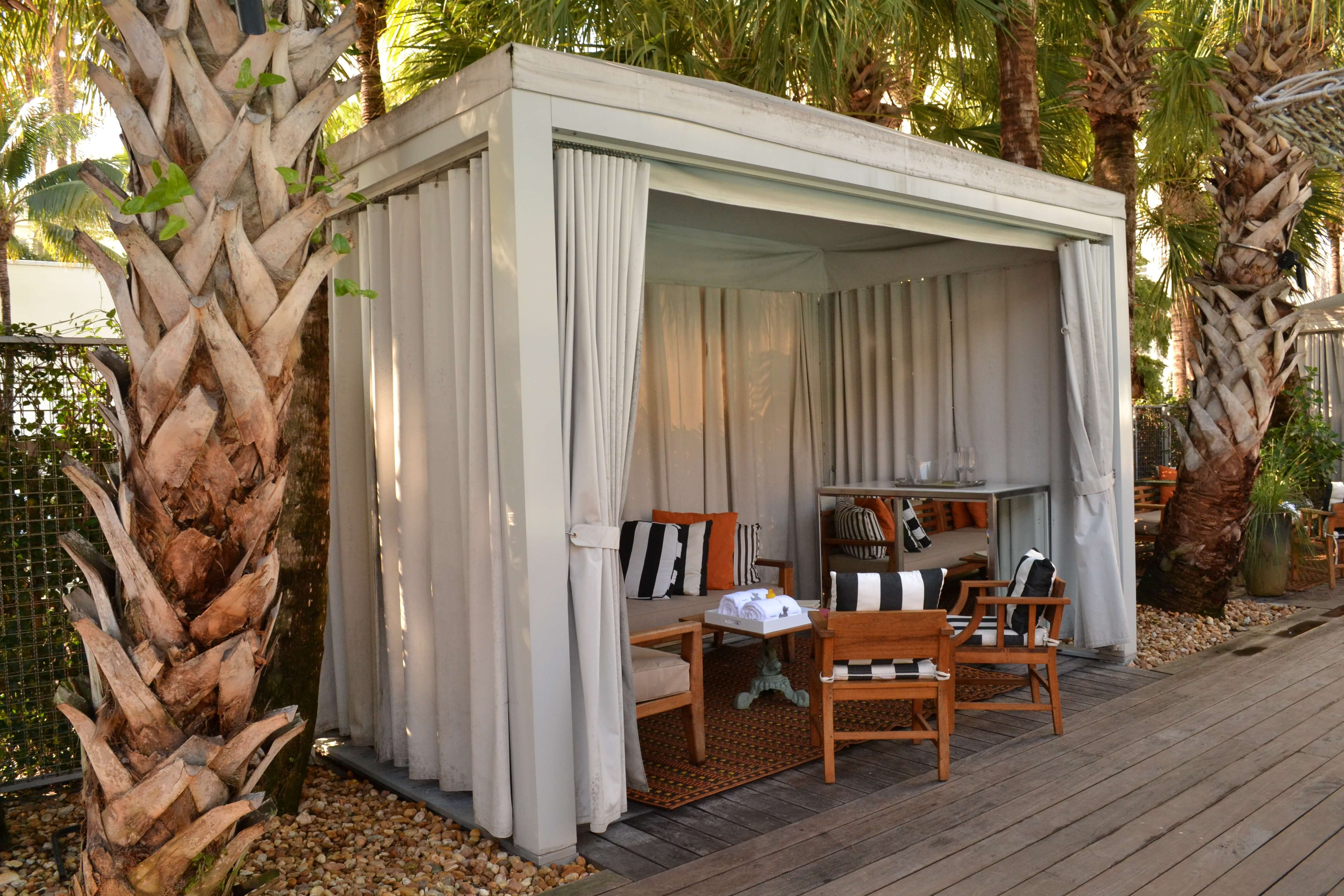 Pool Cabana Custom Design & Installation | ShadeFLA | Modern Desert ...