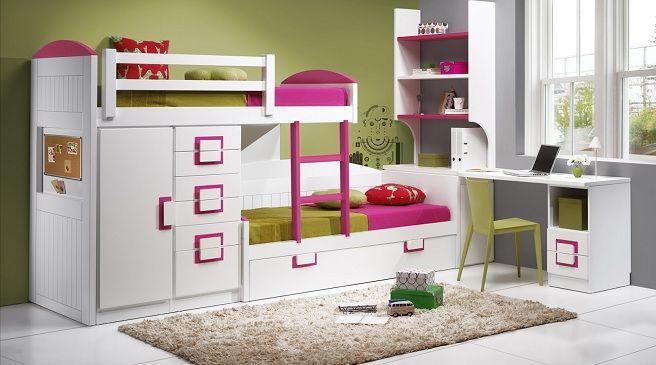 Habitaciones para ni os en espacios peque os buscar con Recamaras para ninos en espacios pequenos