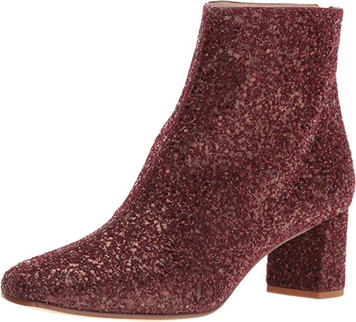Kate Spade New York Women's Tal Bordeaux Glitter Boot - Yes! The Shoe Fits!