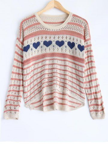 GET $50 NOW | Join RoseGal: Get YOUR $50 NOW!http://www.rosegal.com/sweaters/striped-cut-out-sweater-752718.html?seid=ruo4762g4731smq46tdr3uger4rg752718