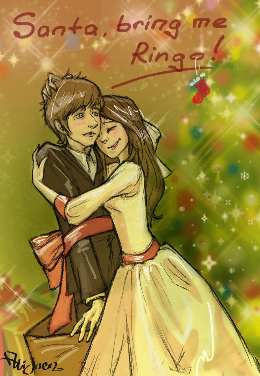 Santa bring me Ringo by ~FrAlichen on deviantART...and while you're at it, bring me Paul...and George...oh, and John...