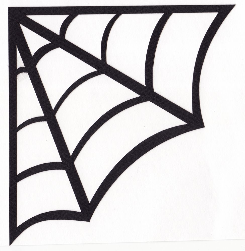 corner spider web template google search cake decorating class pinterest cake decorating. Black Bedroom Furniture Sets. Home Design Ideas