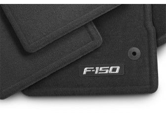 Ford F 150 Floor Mats Carpet 78 99 With Images Ford Fusion Accessories Floor Mats Black Charcoal
