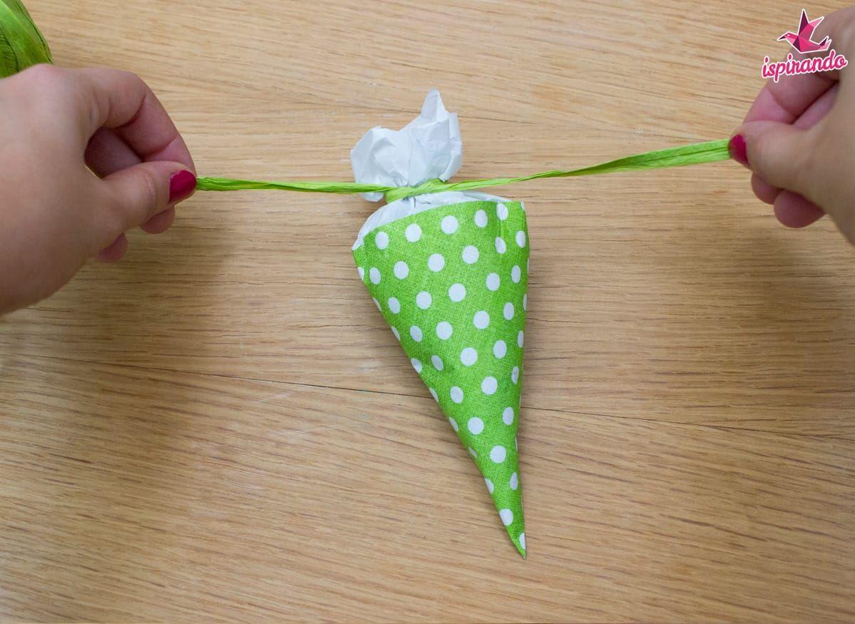 Come realizzare coni porta dolci fai da te - Ispirando ...