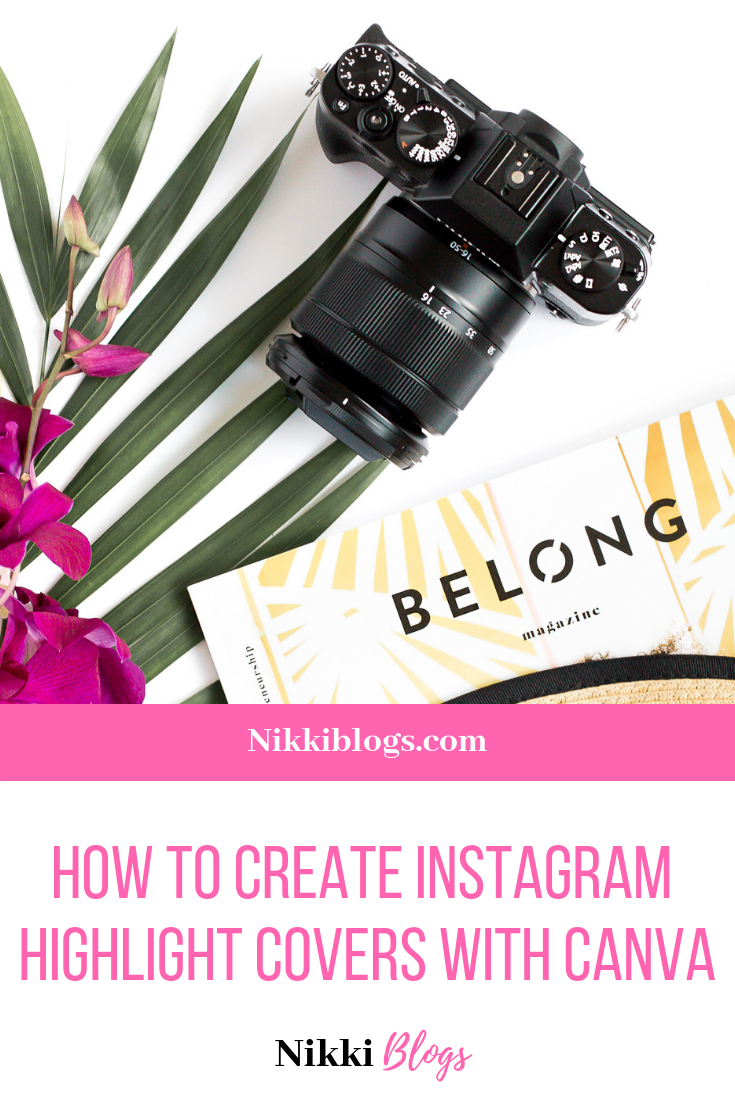 How To Create Free Custom Instagram Highlight Covers with Canva