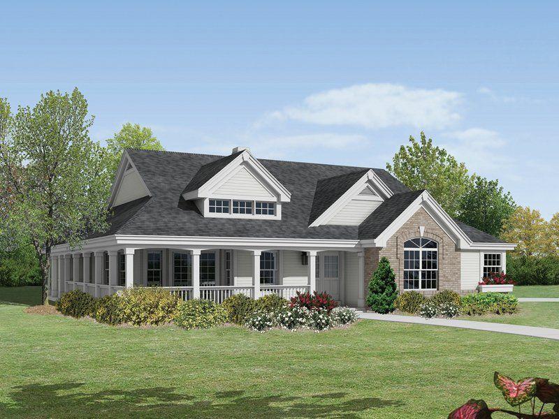 ALP09J3 House Plan Farmhouse style house plans, Ranch