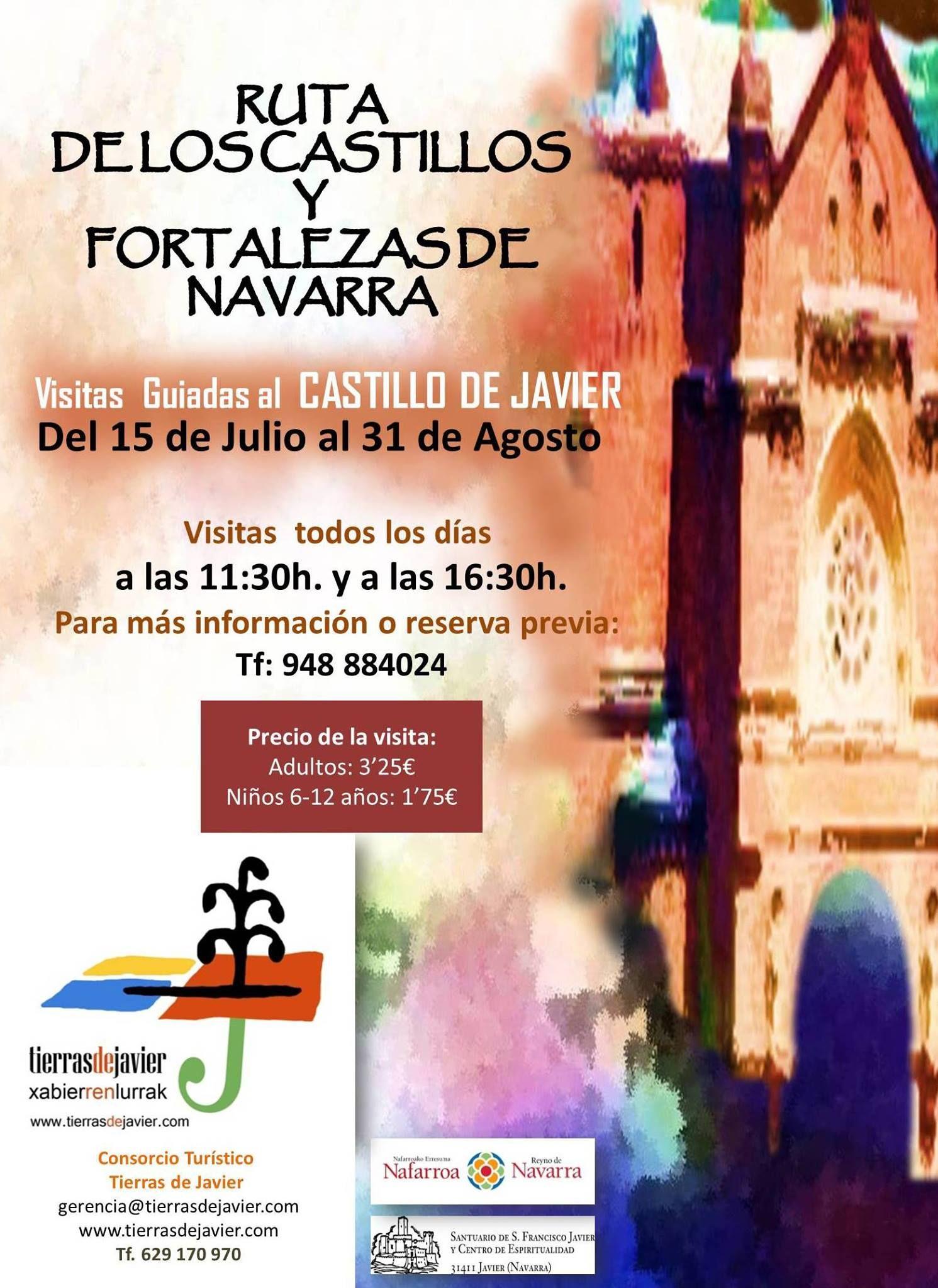 Visitas guiadas al Castillo de Javier, #Navarra ¿Quieres saber más? -> http://www.turismo.navarra.es/esp/organice-viaje/recurso/Patrimonio/3110/Castillo-de-Javier.htm