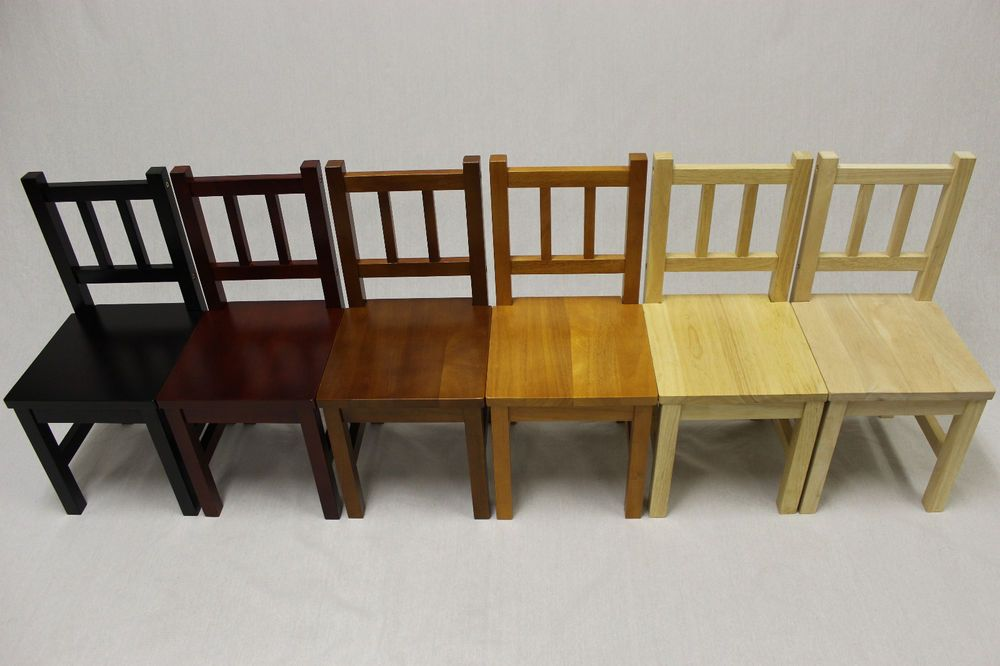 Details About Ehemco Kids Chairs Solid Hard Wood Set Of 2 Kids Table Chairs Kid Table Table Chair Sets