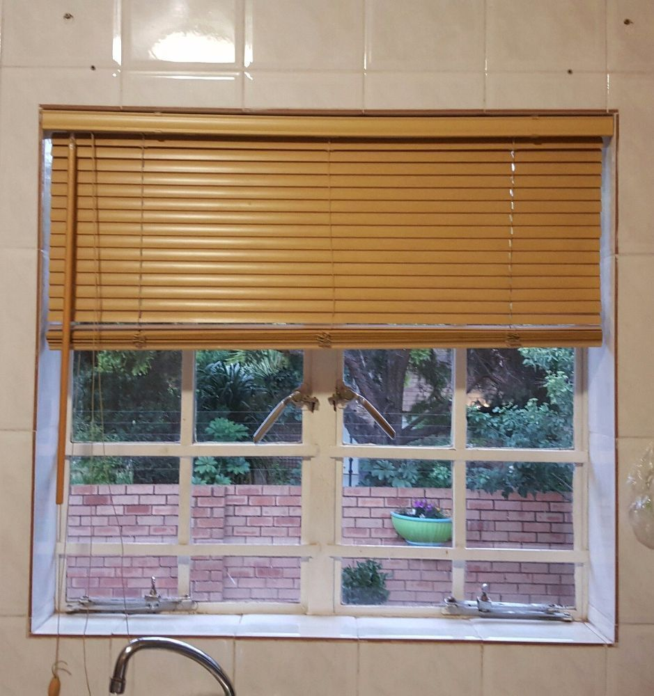 The Blinds In My Kitchen Have Started Looking Rather Insipid And