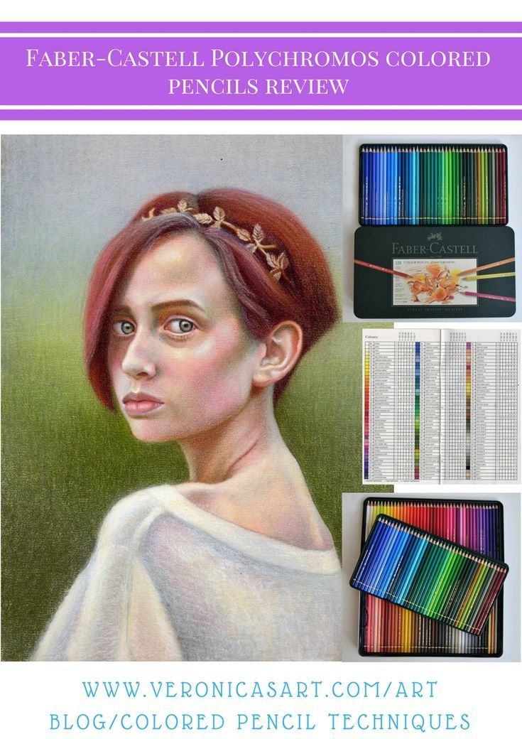 Faber-Castell Polychromos colored pencils review ...