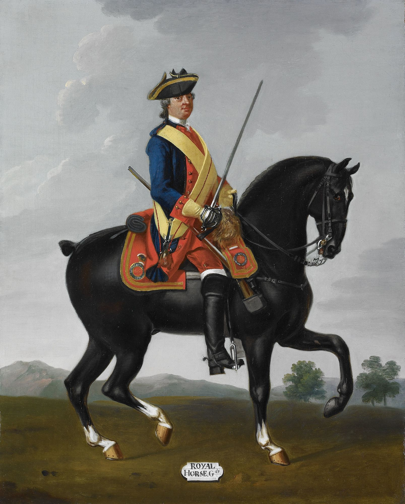 Private Royal Horse Guards The Blues C 1751 Royal Horse Guards Horse Guards Seven Years War