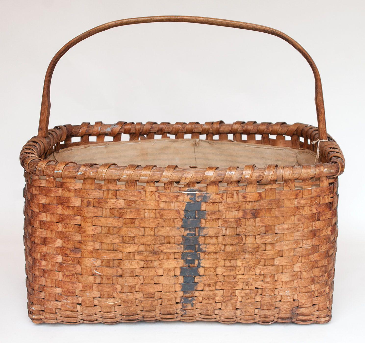 Lot 39: Kindling Basket