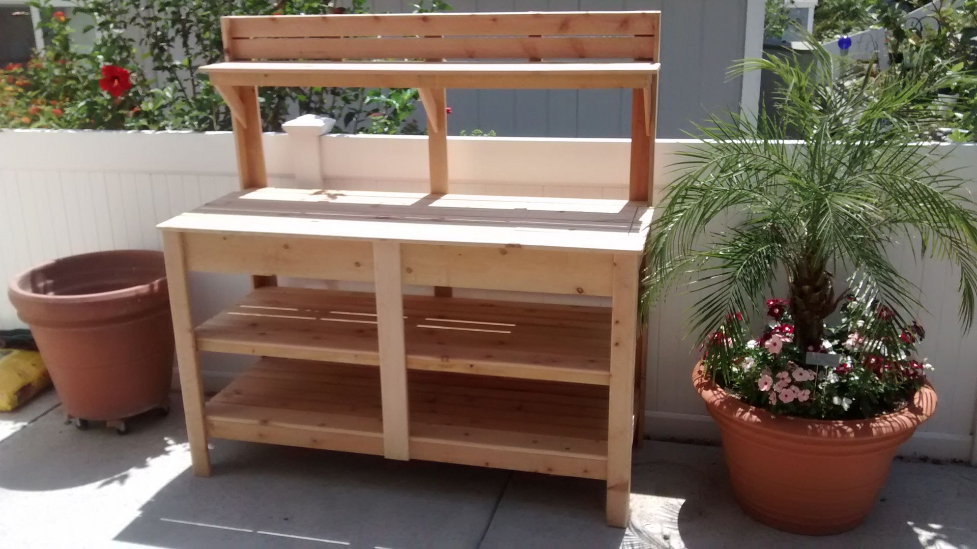 Room to grow and store your garden supplies. A higher level of ...