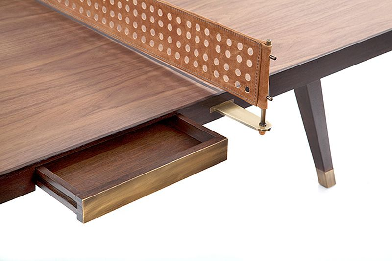 Let S Bounce Wood Ping Pong Table By Etel 卓球台