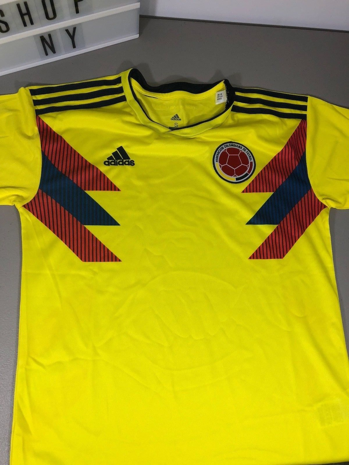Adidas Mens Colombia Home Jersey World Cup 2018 Small Medium CW1526  Discount Price 54.99 Free Shipping Buy it Now c9948df95