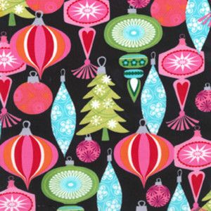 50 60s atomic christmas ornament fabric PILLOW retro Bk Christmas ornament, Xmas and Fabrics