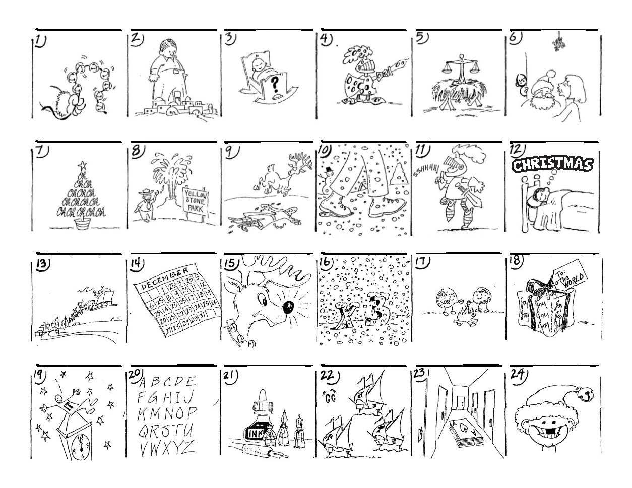 Christmas Carol Puzzles