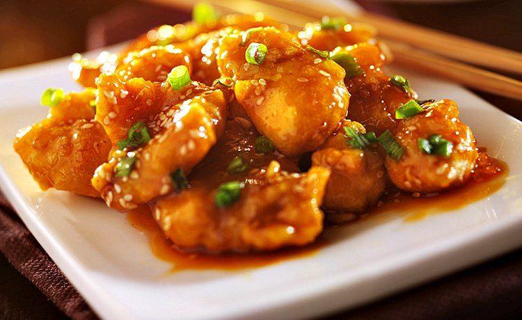 pollo a la naranja receta salsa