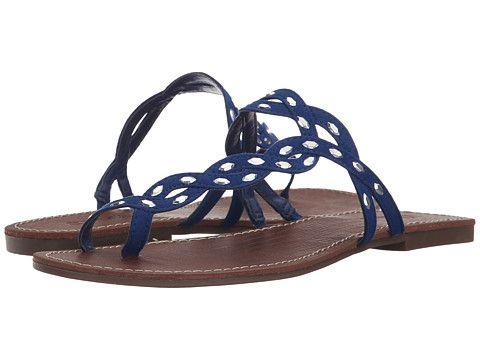 Womens Sandals CARLOS by Carlos Santana Seville Cobalt