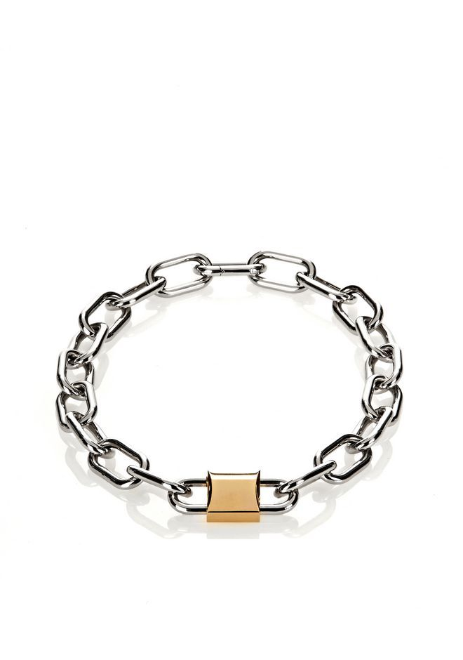 Alexander Wang Double Lock Necklace Accessories Adult 12 N F